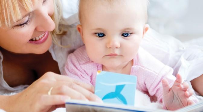 Hur läser man för barn som är 5 månader