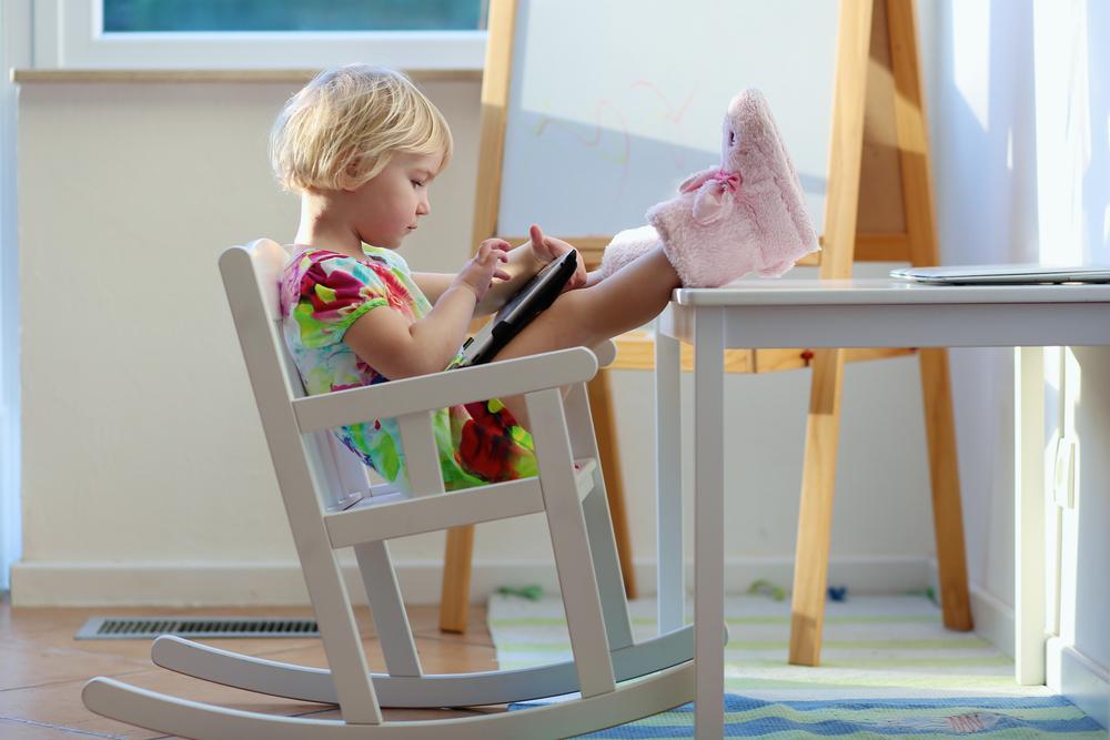 Du kan inte sitta i knät på en iPad