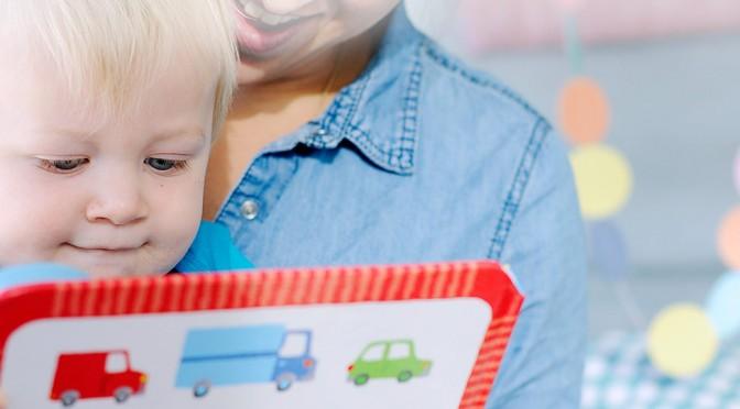 Att läsa med 1-åringen