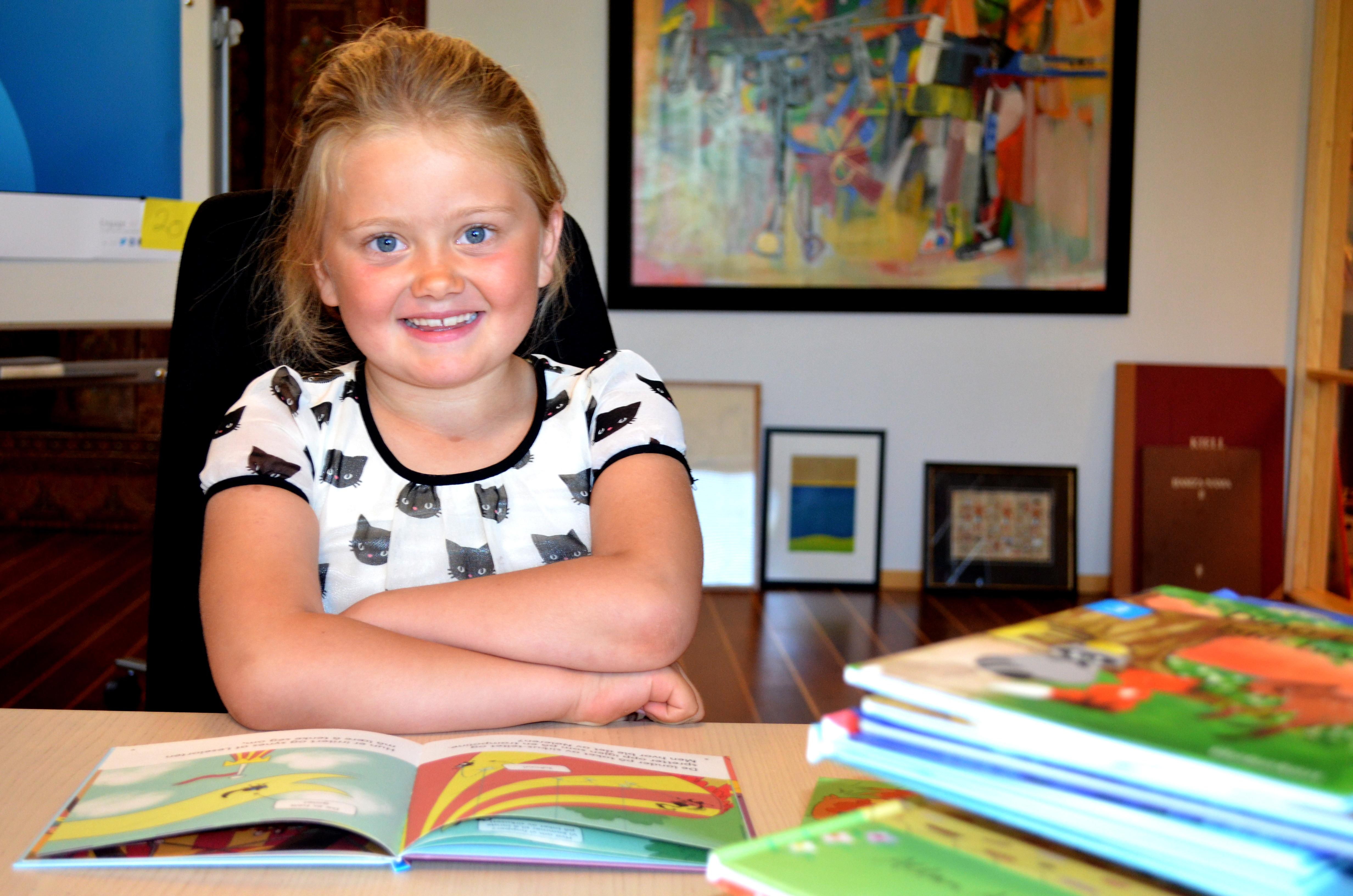 Knäck läskoden med fina tips från Astrid 6 år