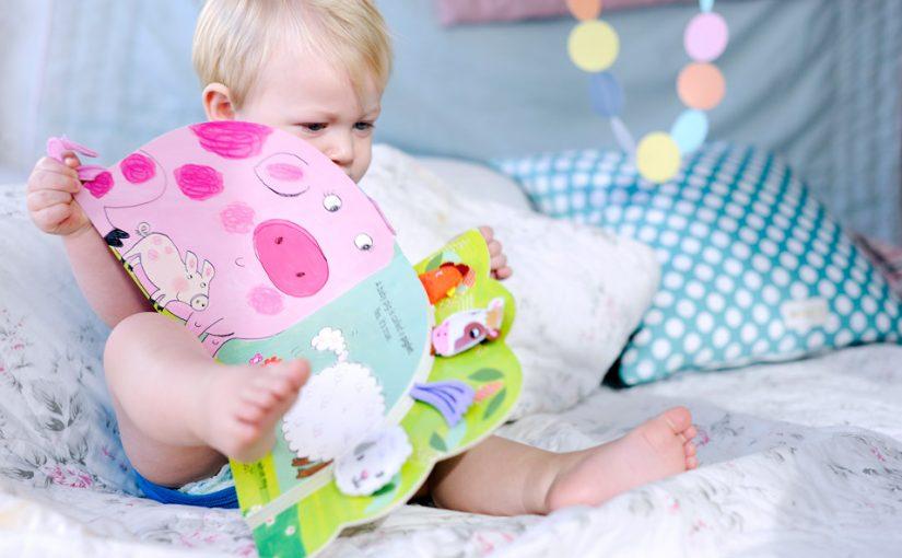 Språkutvecklingen hos 11 månader gamla barn