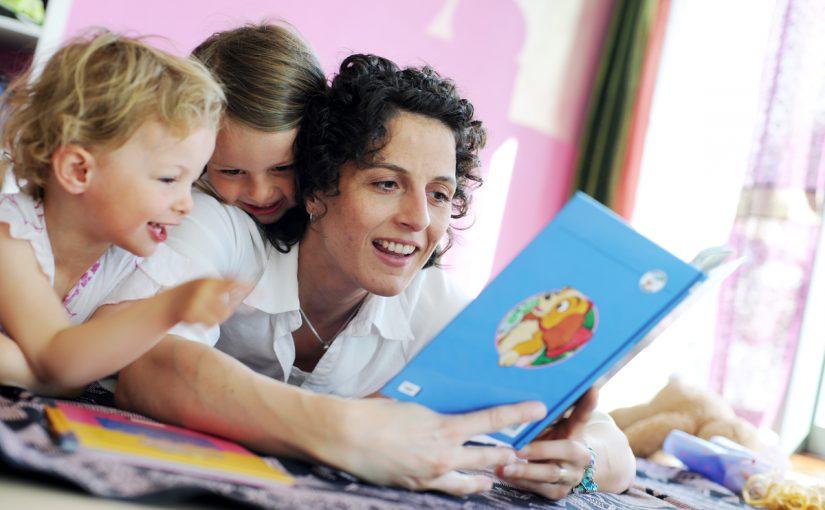 Högläsning förbereder barnet för skolan