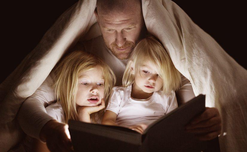 En läsestund varje kväll ger resultat för livet