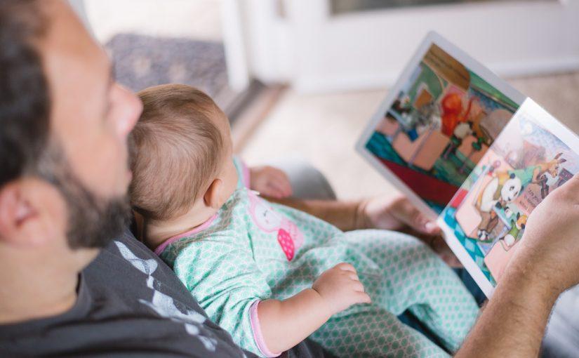 Inser du hur mycket kärlek du visar genom att läsa högt för ditt barn?
