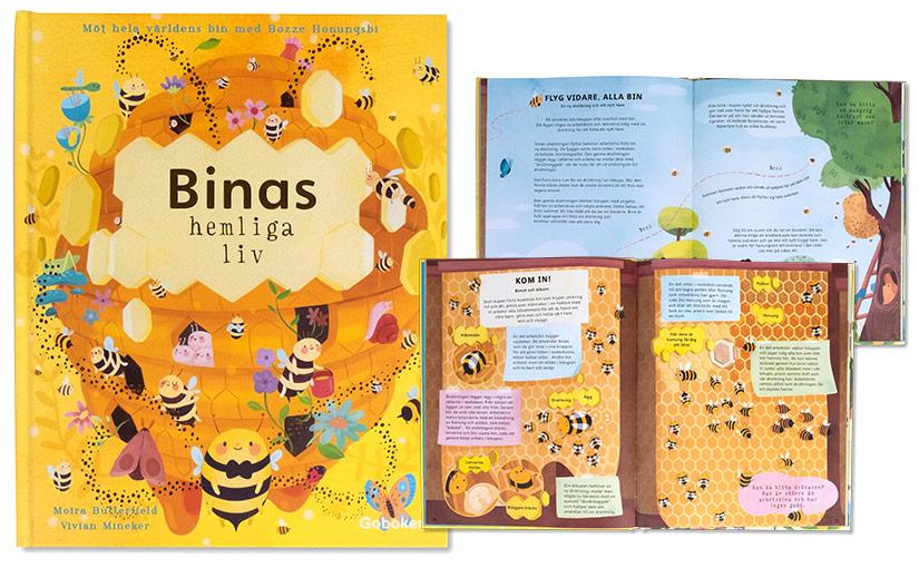 Binas hemliga liv – fin fakta för småfolk!