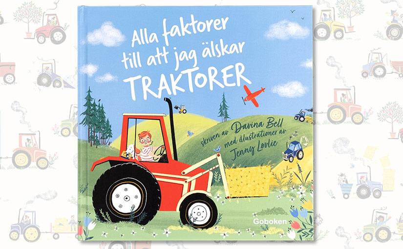 Allt om traktorer och andra favoritböcker