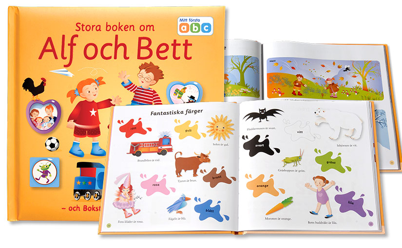 Den stora boken om Alf, Bett och Bokstavståget