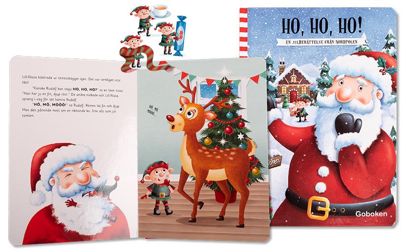 Ho, ho, ho! En julberättelse från Nordpolen